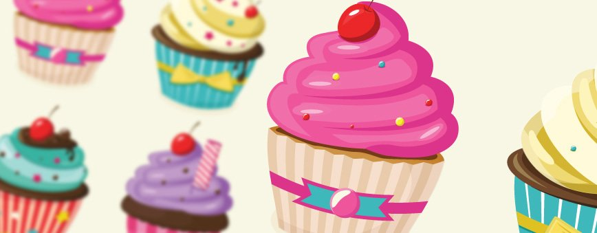 Layerform Freebie - Vector Cupcakes