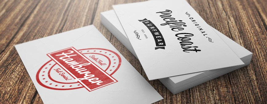 10 Photorealistic Business Card Mockups