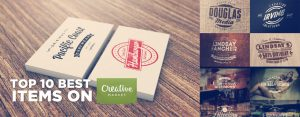 The Top 10 Best Items on Creativemarket