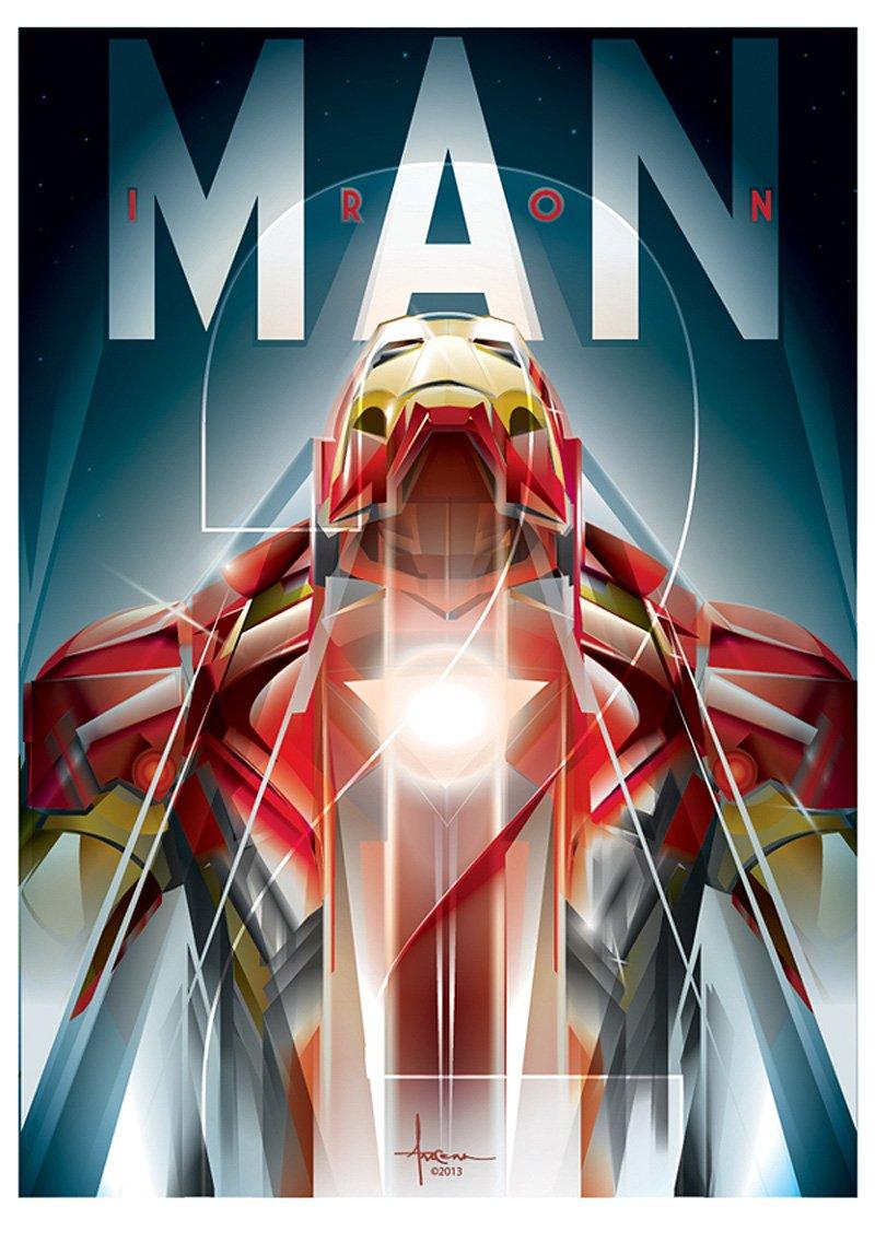 Orlando Arocena Iron Man