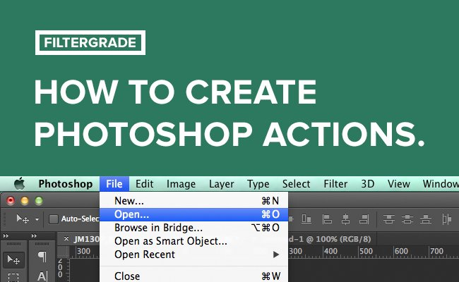 Learn how to create your own Photoshop