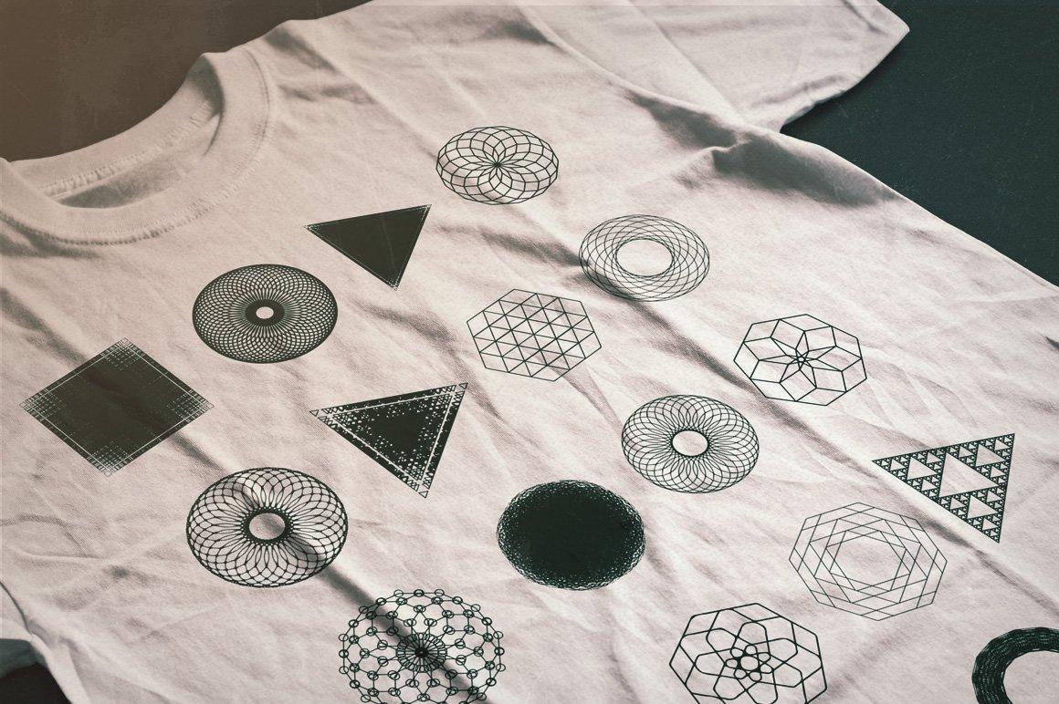 Geometric Vector Shapes Bundle