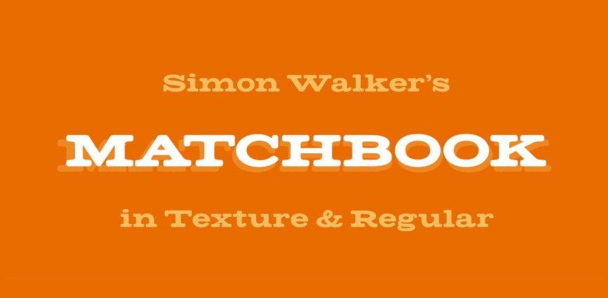 Best-Free-Fonts-Simon-Walker-Matchbook