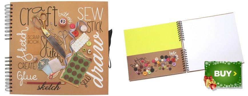 Craft and Create Square Scrapbook