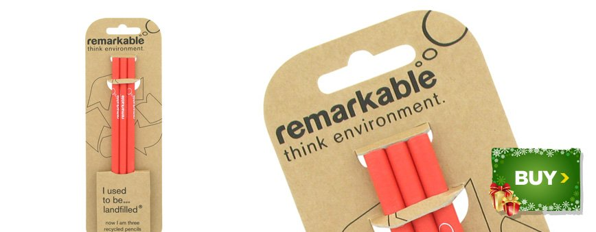Remarkable Recycled Pencils