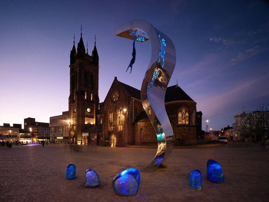 The Wave Sculpture