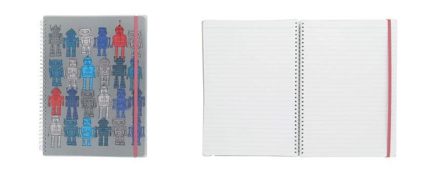 Robots A4 Designer Notebook