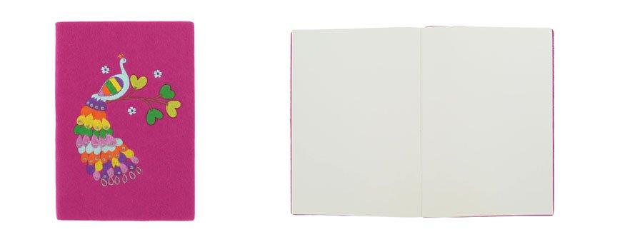 A5 Felt Notebook