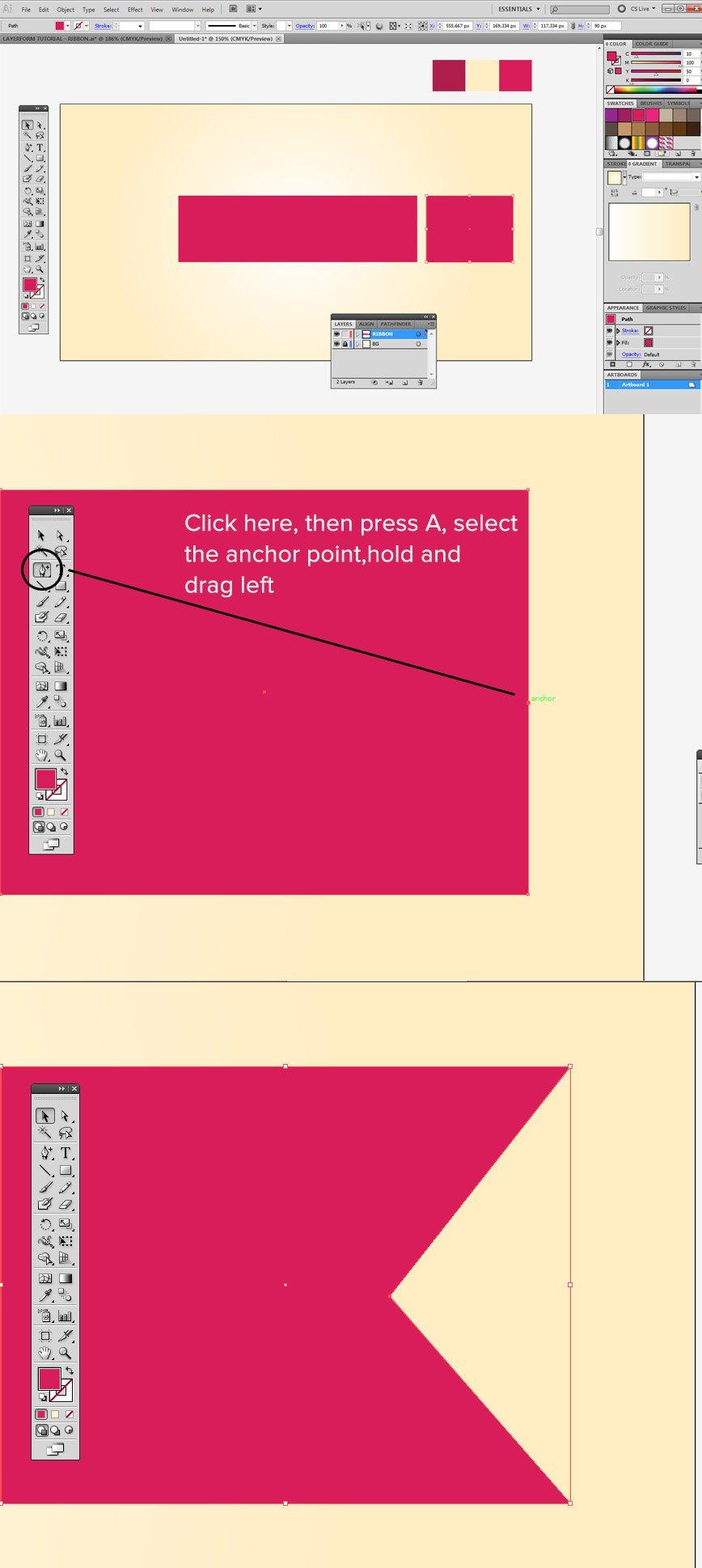 Ribbon Tutorial Step 3point1