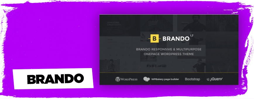 brando-wordpress-theme-one-page