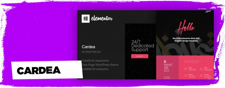 cardea-one-page-wordpress-theme