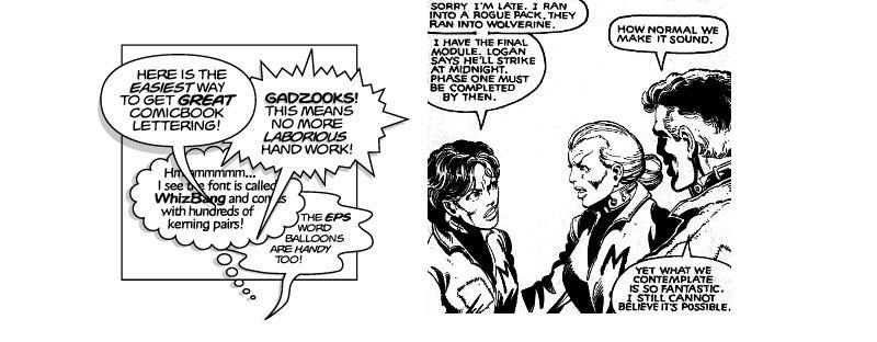 Comic Book Letterer
