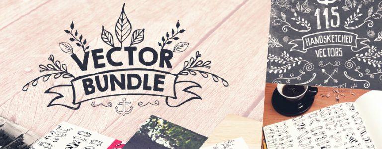 Handsketched Vector Design Bundle