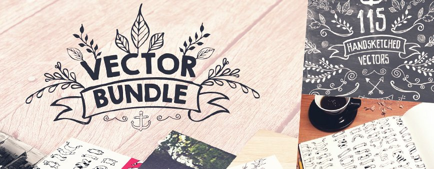 Handsketched Vector Design Bundle