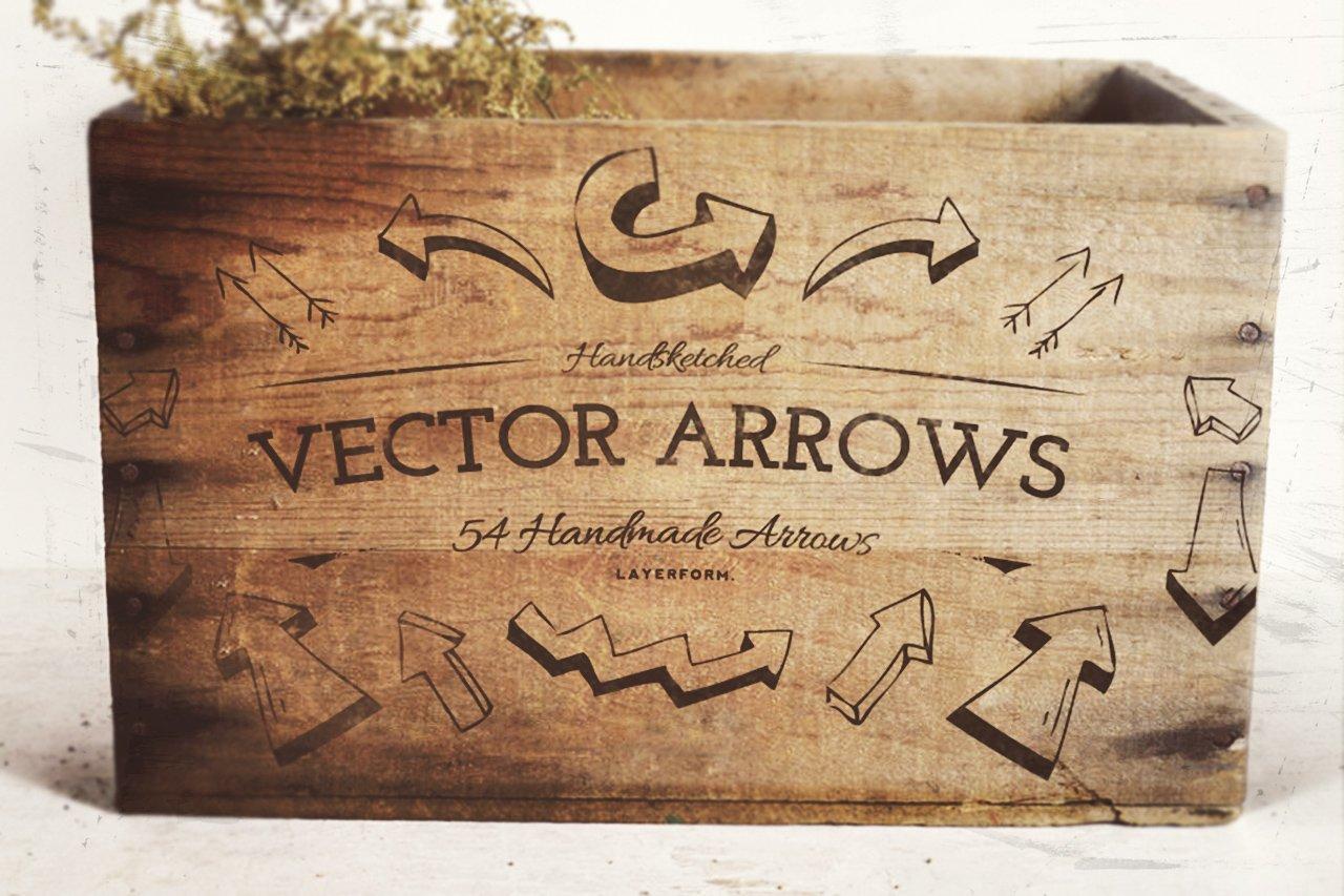 Handsketched Vector Arrows