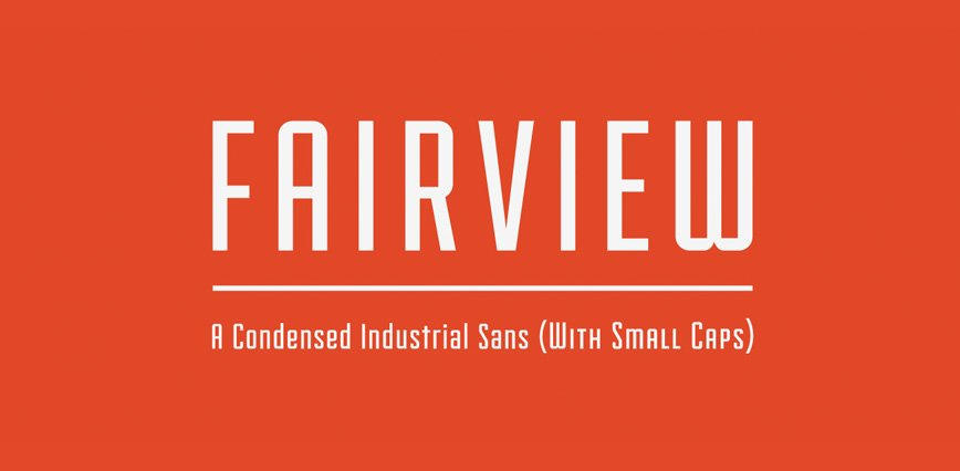 Best-Free-Fonts-Fairview
