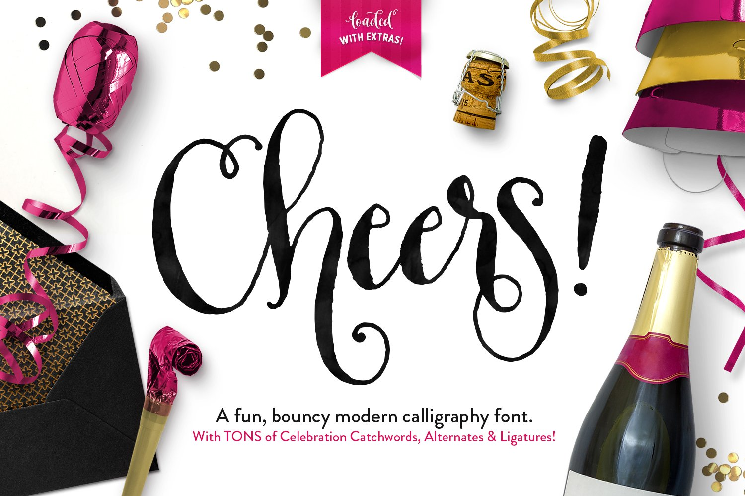 """Download Callie's Font """"Cheers"""" here"""" http://crtv.mk/d0Ygl"""