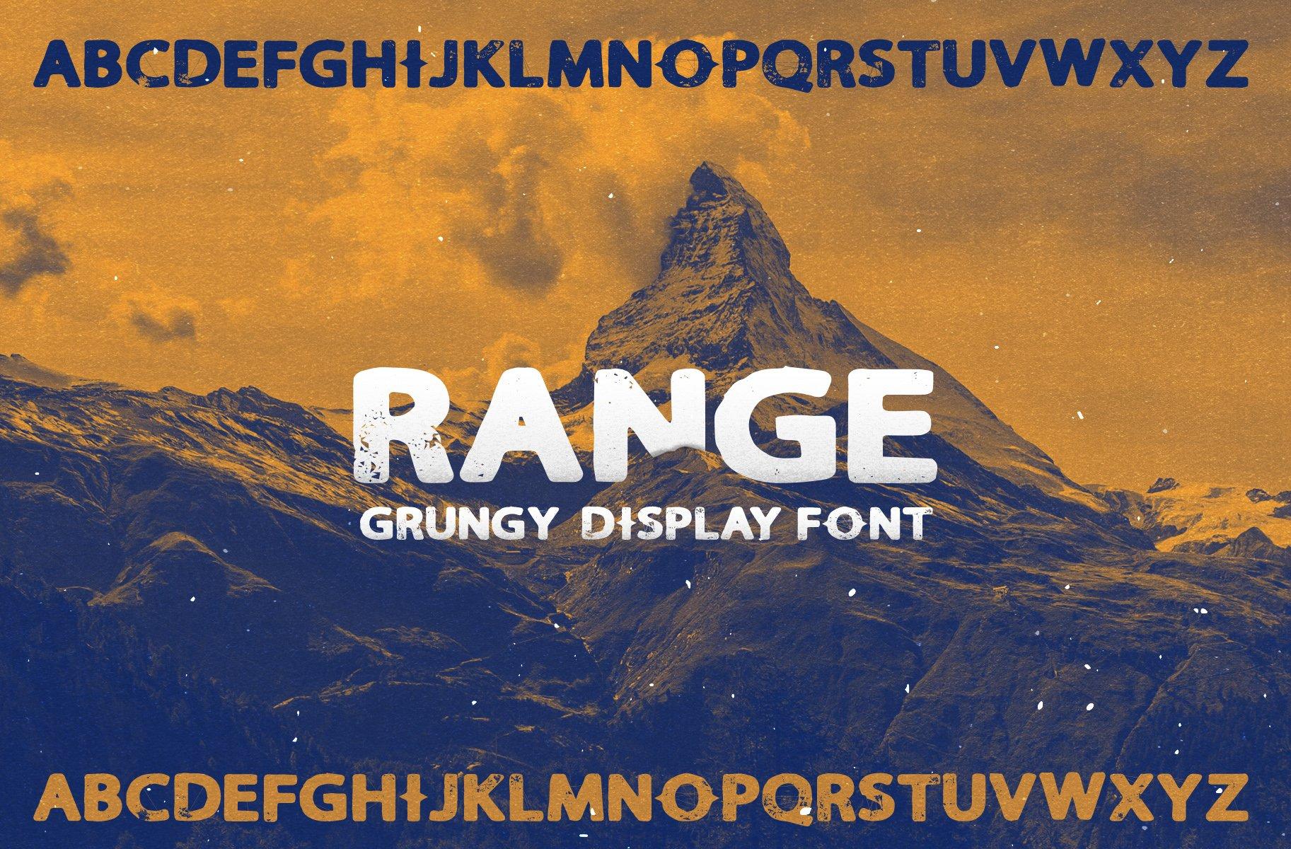 Range Sans - Free Font