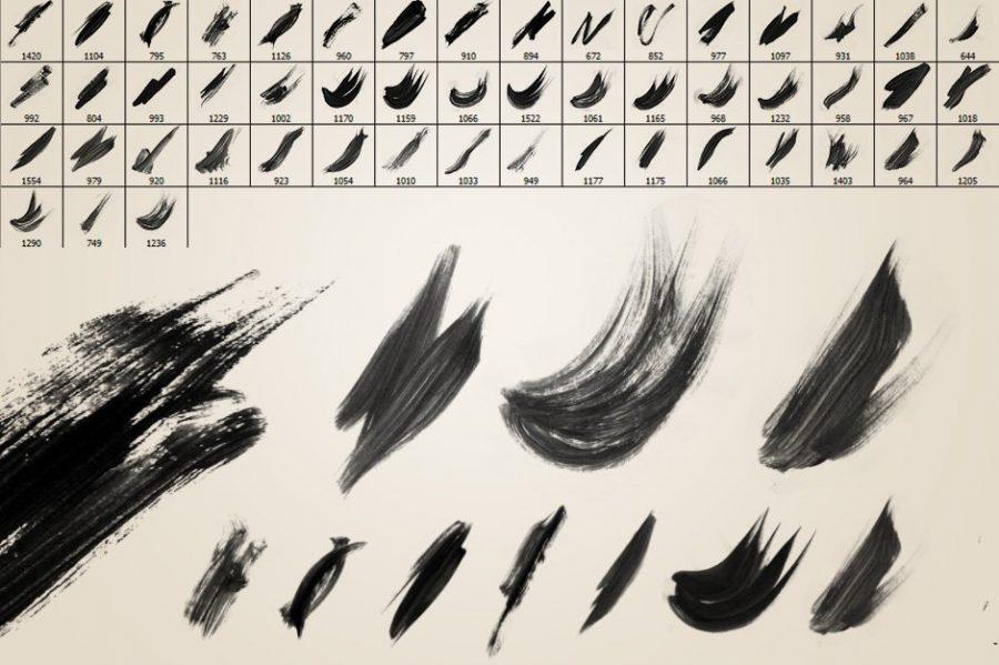 51 Watercolour Photoshop Brushes