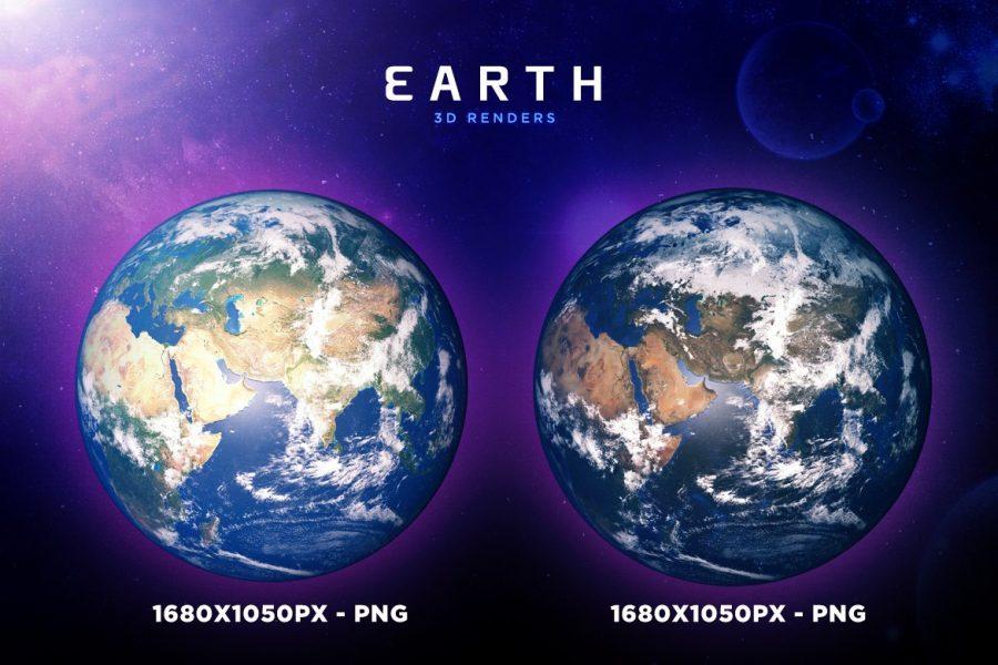 Earth Renders