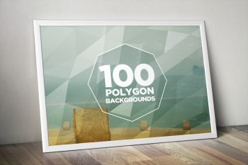 Geometric Polygon Backgrounds