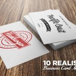 Business Card PSD Mockups