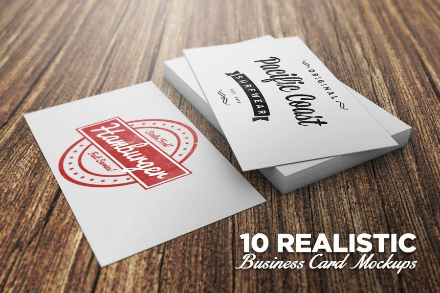 Business Card PSD Mockups