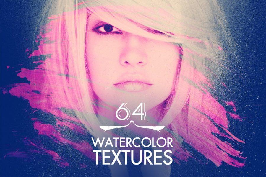 64 Watercolor Textures