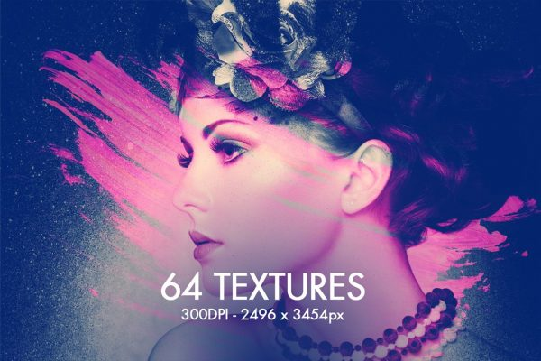 64 Watercolor Textures