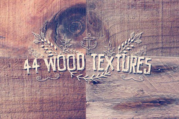 44 Wood Grain Textures
