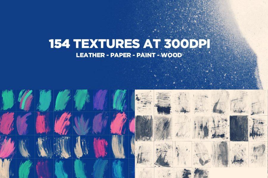 154 Textures Bulk Bundle