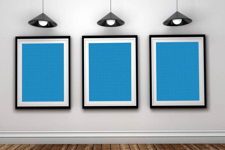Art Gallery PSD Mockup Freebie by Layerform Design Co