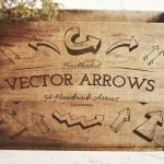 54 Handsketched Vector Arrows by Layerform Design Co