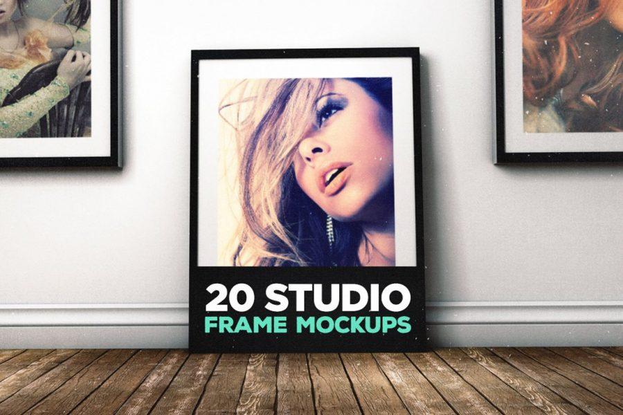 20 Studio Frame Mockups by Layerform Design Co