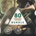 80 Geometric Vectors Bundle by Layerform Design Co