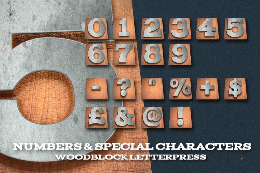 Wood Letterpress Design Kit by Layerform Design Co