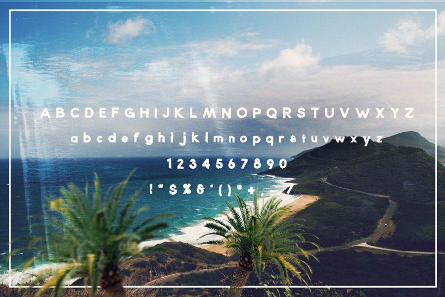 Pointbreak Sans Typeface by Layerform Design Co