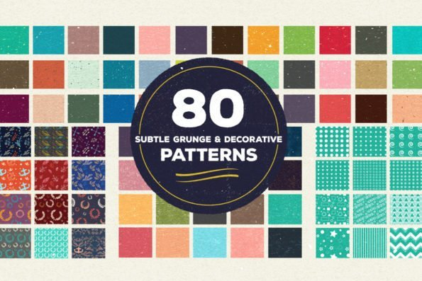100 Vector Patterns Bundle by Layerform Design Co