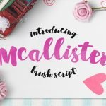 Mcallister Brush Script Typeface