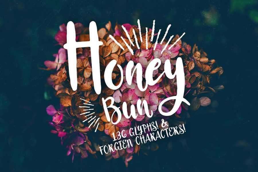 Honey Bun Script - Typeface