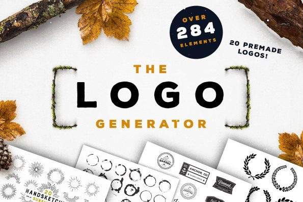 The Logo Generator by Layerform Design Co