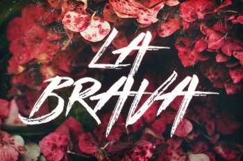 La Brava Handsketched Typeface by Layerform Design Co