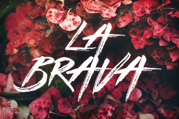 La Brava Handsketched Typeface by Layerform Design Co