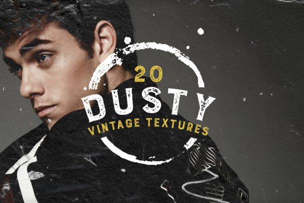 20 Dusty Vintage Textures by Layerform Design Co