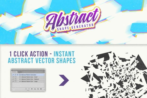 Abstract Vector Shape Generator by Layerform Design Co