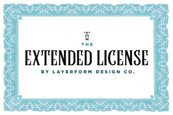 Extended License Layerform Design Co