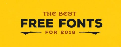 The-Best-Free-Fonts-for-2018