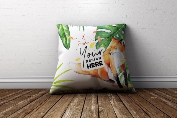 Free Pillow PSD Mockup
