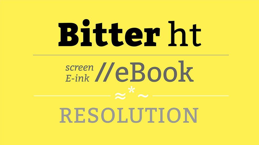 Bitter-Free-Font