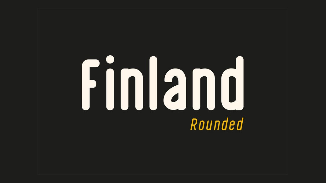Finland-Rounded-Best-Free-Fonts-2019